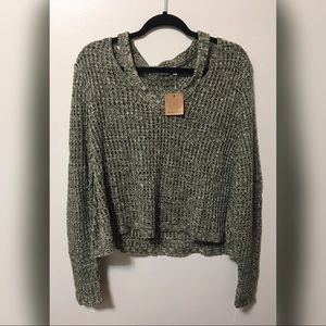 Romancing the Stone / Earthbound Cropped Sweater